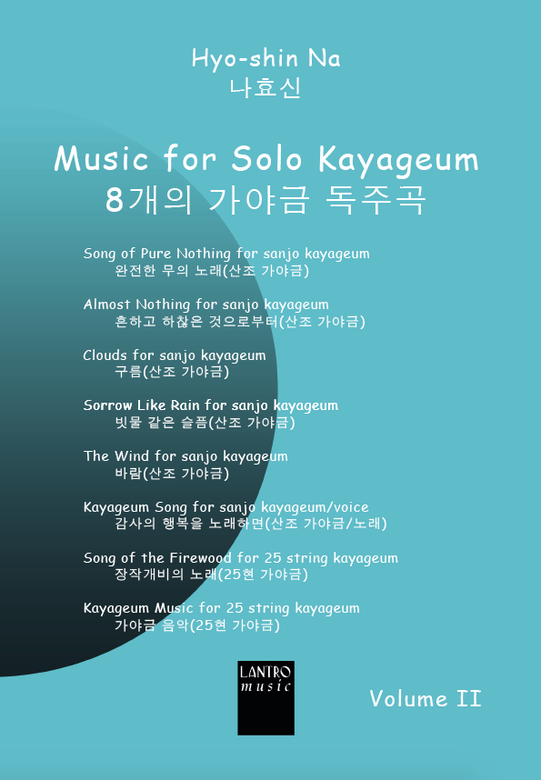Music for solo Kayageum