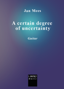 A certain degree of uncertainty
