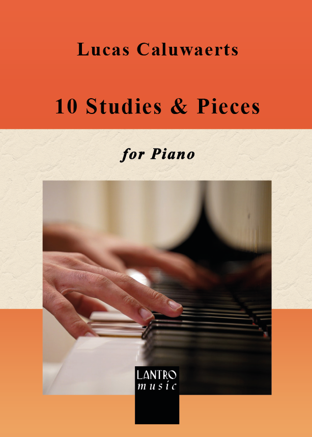 Caluwaerts-10 Studies & Pieces for piano